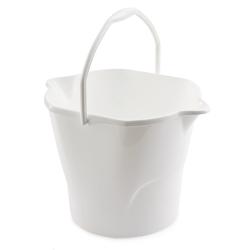 White 3 Gallon Utility Bucket