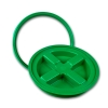 Green Gamma Seal® Lid for 3.5 to 7 Gallon Pail