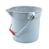 Brute® Gray 10 Qt. Bucket