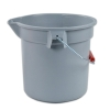 Brute® Gray 14 Qt. Bucket
