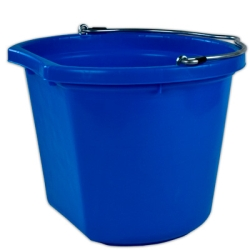 24 Quart Blue Bucket
