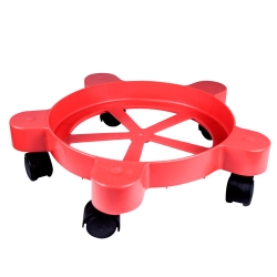 Red Pail Dolly