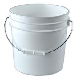 White 2 Gallon Bucket