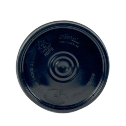 Black 1 Gallon Lid
