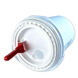White Spout Lid for 5 Gallon Ultimate Pail for Liquids