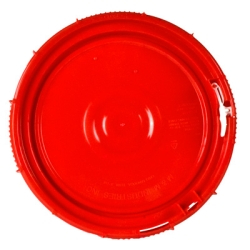 Red Lid for 3.5, 5 & 6.5 Gallon Containers