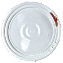 White Lid for 3.5, 5 & 6.5 Gallon Containers