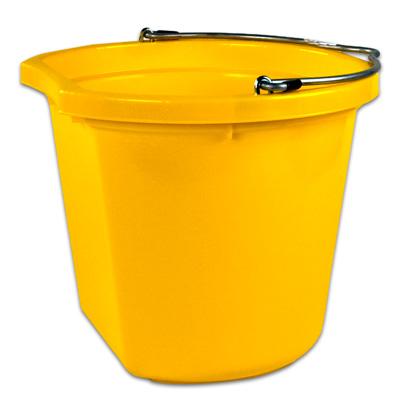 20 qt. Yellow Bucket