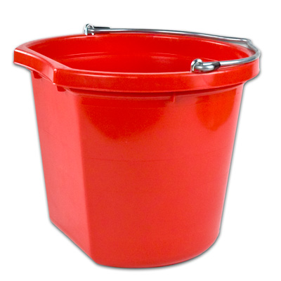 20 qt. Red Bucket