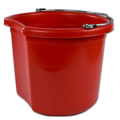 24 qt. Red Bucket