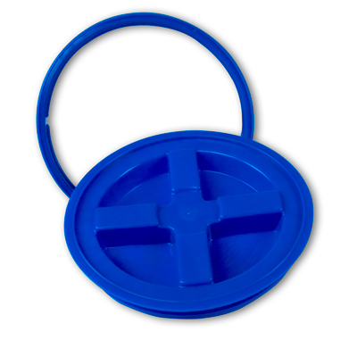 Blue Gamma Seal® Lid for 3.5 to 7 Gallon Pail