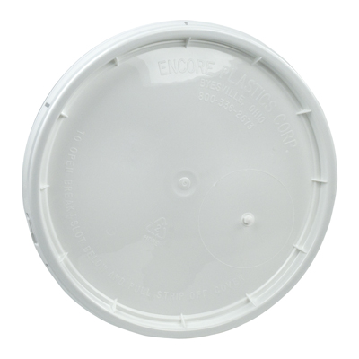 White Tear Strip Lid w/Gasket