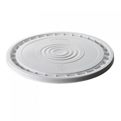 Letica® White Peel Off Reusable Lid