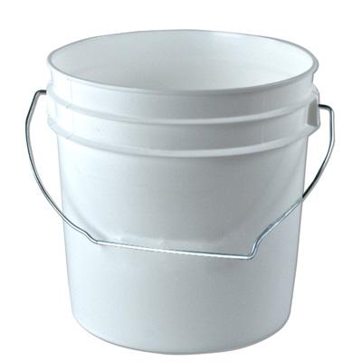 White 1 Gallon Bucket