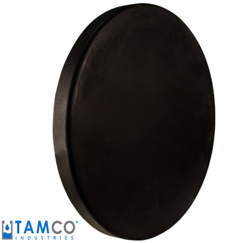 Black Heavy Duty Cover for 55 Gallon Tanks & Drums