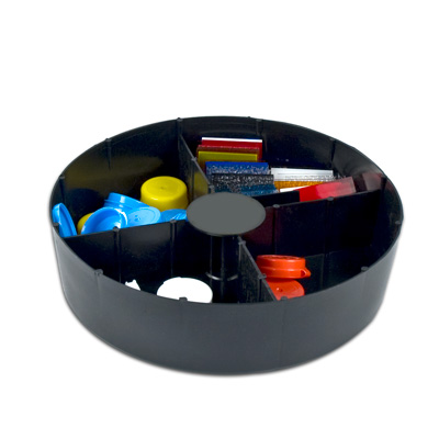 "2-1/2"" Organization Trays w/4 Compartments"