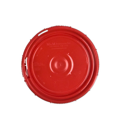 Red Lid for 1.25 Gallon Containers