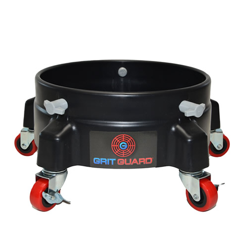 Black Grit Guard® Bucket Dolly