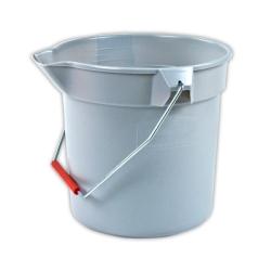 Brute® Gray 10 Qt. Bucket