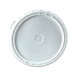 White Lid for VaporLock 1 Gallon Bucket