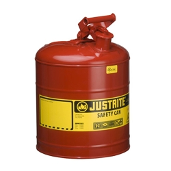 "5 Gallon Justrite® Type I Safety Can  - 11-1/2"" x 17"""
