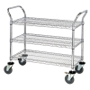 Quantum® Q-Stor Wire Shelving Mobile Carts