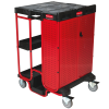 Rubbermaid® Ladder Cart with One Cabinet