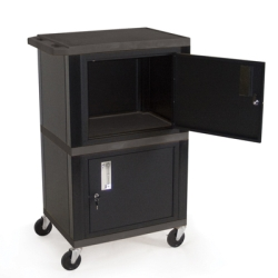 Dual Storage Cabinet Carts