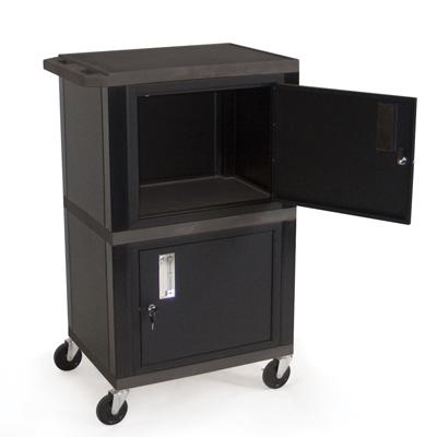 Dual Storage Cabinet Carts
