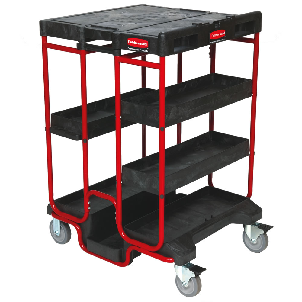 Rubbermaid® Ladder Carts