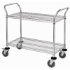 "18""W x 36""L x 40""H Cart with 2 Shelves"