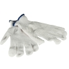 Women's Single Side White with White Dot Gloves