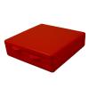 """Red Micro Box - 4"""" L x 4"""" W x 1"""" Hgt."""