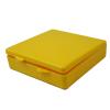 "Yellow Micro Box - 4"" L x 4"" W x 1"" Hgt."