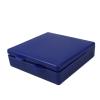 """Blue Micro Box - 4"""" L x 4"""" W x 1"""" Hgt."""