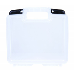 "10"" Clear Merchant™ Case - 9-5/8"" L x 7-1/8"" W x 2-4/5"" Hgt."