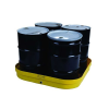 4 Drum Yellow Basin with Drain