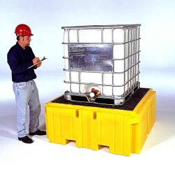 UltraTech Ultra-IBC Spill Containment Pallet Plus with Drain