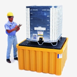 UltraTech Ultra-IBC Spill Containment Pallet with Drain