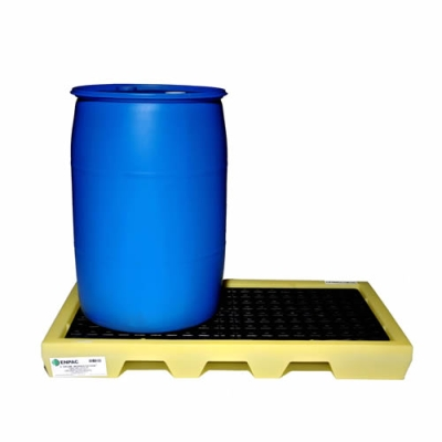 2 Drum Workstation™ with 22 Gallon Sump Capacity