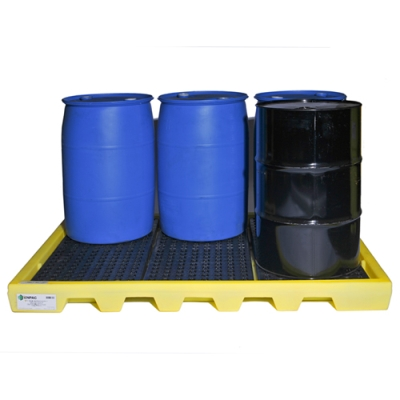 6 Drum Workstation™ with 61 Gallon Sump Capacity