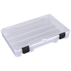 """Tuff-Tainer® Polypropylene 1 Compartment Box - 10-5/8"""" L x 6-5/8"""" W x 1-9/16"""" Hgt."""