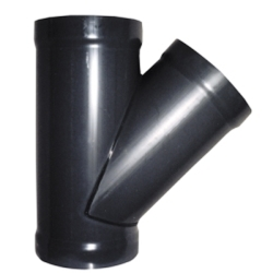 PVC Duct 45° Wyes