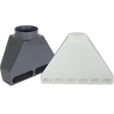 PVC & Polypropylene Rear Fume Exhaust Hoods