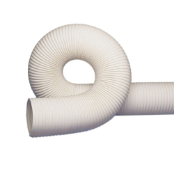 RFH White Thermoplastic Rubber Reinforced Hose with Wire Helix