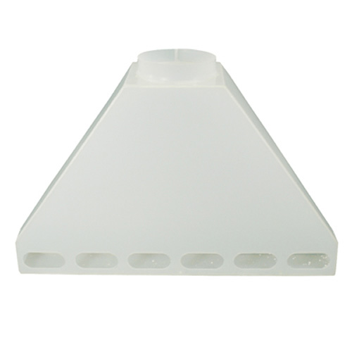 "42"" Wide Polypropylene Rear Fume Exhaust Hood"