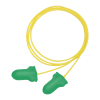 Max Lite® Corded Green Earplugs