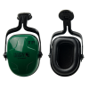 Thunder® Noise-Blocking Earmuffs with Green Cap-Mount