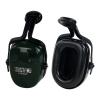 Thunder® Noise-Blocking Earmuffs with Dark Green Cap-Mount