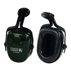 Thunder® Noise-Blocking Earmuffs with Dark Green Cap-Mount